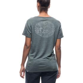 Houdini Activist Message T-Shirt Damen deeper green
